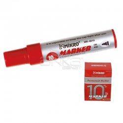 MIKRO - Mikro Marker Yazı Kalemi 10mm Kırmızı