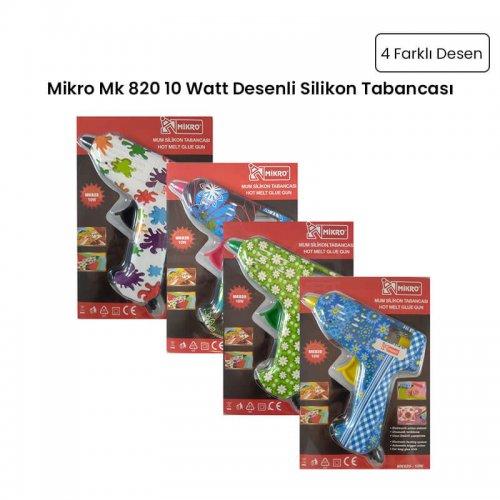 Mikro Mk 820 10 Watt Desenli Silikon Tabancası