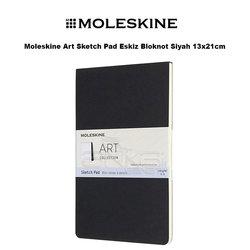 Moleskine - Moleskine Art Sketch Pad Eskiz Bloknot Siyah 13x21cm