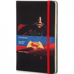 Moleskine Batman vs Superman 13x21 cm Çizgili Defter - Thumbnail