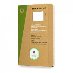 Moleskine - Moleskine Evernote Cahier 2li 13x21 cm Düz Kraf Defter