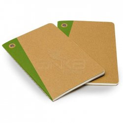 Moleskine Evernote Cahier 2li 13x21 cm Düz Kraf Defter - Thumbnail