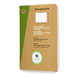 Moleskine - Moleskine Evernote Cahier 2li 9x14 cm Çizgili Kraf Defter