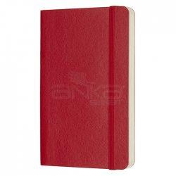 Moleskine - Moleskine Klasik Cep Boy Yumuşak Kapak Noktalı Defter Kırmızı (1)