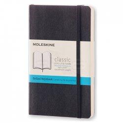Moleskine - Moleskine Klasik 9x14 cm Yumuşak Kapak Noktalı Defter Siyah