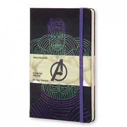 Moleskine - Moleskine The Avengers Hulk 13x21 cm Çizgili Defter
