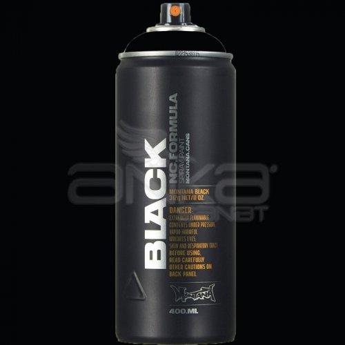 Montana Black Sprey Boya 400ml BLK9001 Black