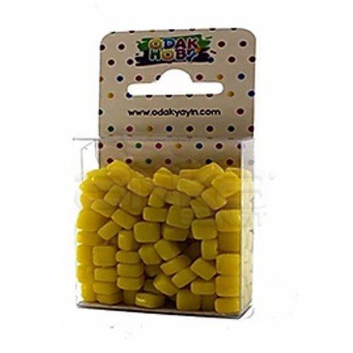 Mozaik Taşı 6x6mm 150 Adet Sarı