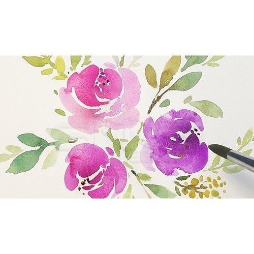 Mungyo Gallery Artists Watercolor Set 24 Renk Yarım Tablet