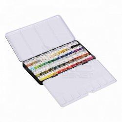 Mungyo - Mungyo Gallery Artists Watercolor Set 48 Renk Yarım Tablet MWPF-48C