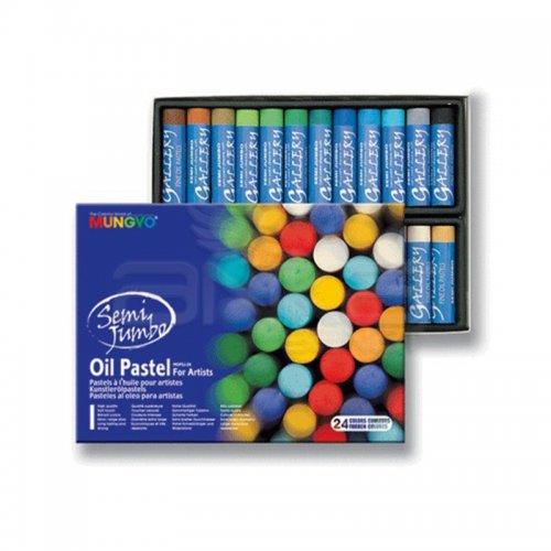 Mungyo Jumbo Oil Pastel 24 Renk