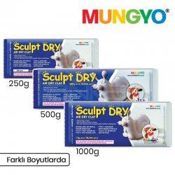 Mungyo - Mungyo Air Sculpt Dry Seramik Hamuru Beyaz