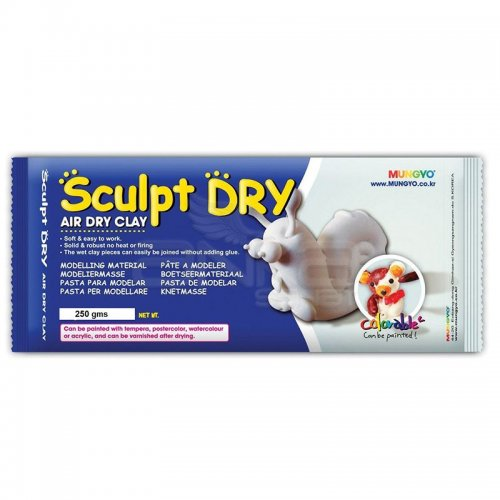 Mungyo Air Sculpt Dry Seramik Hamuru Beyaz