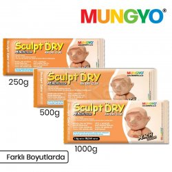 Mungyo Air Sculpt Dry Seramik Hamuru Ten Rengi - Thumbnail