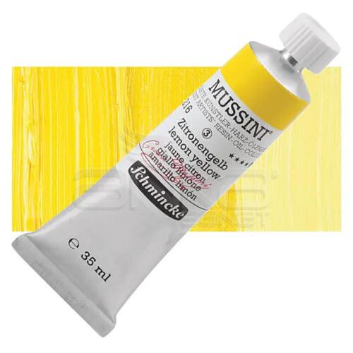 Mussini 35ml Yağlı Boya Seri:3 No:216 Lemon Yellow - 216 Lemon Yellow