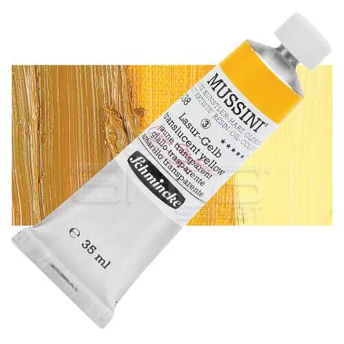 Mussini 35ml Yağlı Boya Seri:3 No:238 Translucent Yellow - 238 Translucent Yellow