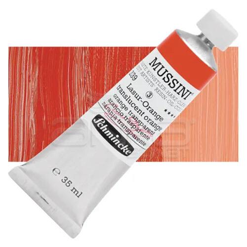 Mussini 35ml Yağlı Boya Seri:3 No:239 Translucent Orange - 239 Translucent Orange
