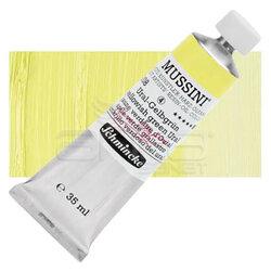 Mussini - Mussini 35ml Yağlı Boya Seri:4 No:208 Yellowish Green Ural