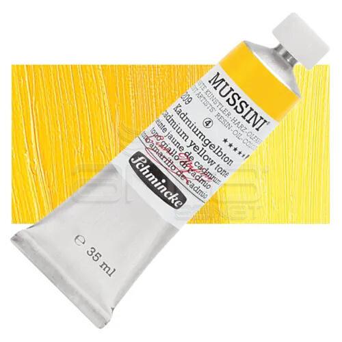 Mussini 35ml Yağlı Boya Seri:4 No:209 Cadmium Yellow Tone - 209 Cadmium Yellow Tone