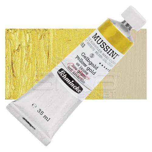 Mussini 35ml Yağlı Boya Seri:5 No:863 Yellow Gold - 863 Yellow Gold