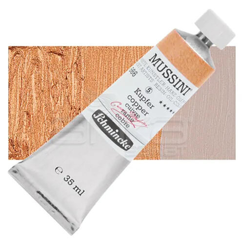 Mussini 35ml Yağlı Boya Seri:5 No:866 Copper - 866 Copper
