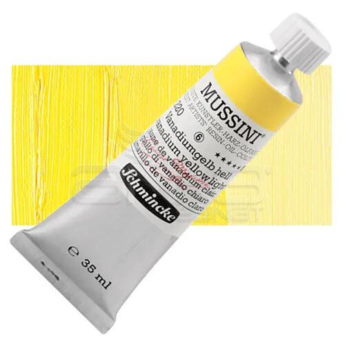 Mussini 35ml Yağlı Boya Seri:6 No:220 Vanadium Yellow Light - 220 Vanadium Yellow Light