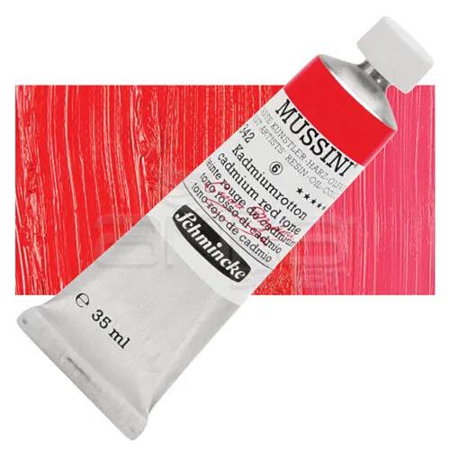 Mussini 35ml Yağlı Boya Seri:6 No:342 Cadmium Red Tone - 342 Cadmium Red Tone