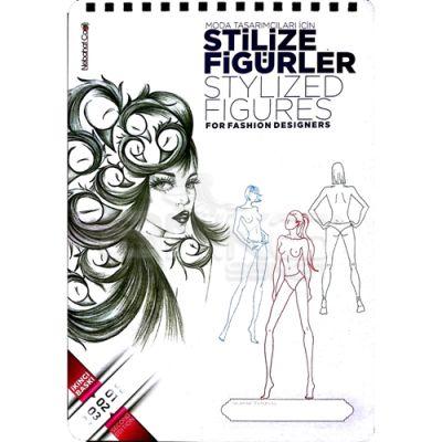 Nebahat Çağıl Moda Tasarımcıları için Stilize Figürler Çizim Blok