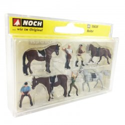 Noch - Noch At ve İnsan Figürleri 8li 15630 (1)