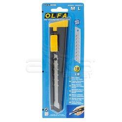 Olfa - OLFA Metal Gövdeli Geniş Maket Bıçağı M L (1)