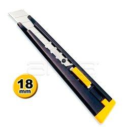 Olfa - OLFA Metal Gövdeli Geniş Maket Bıçağı M L