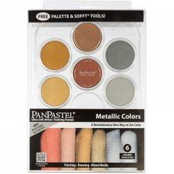 PanPastel Boya Seti 6lı Metallic Colors - Thumbnail