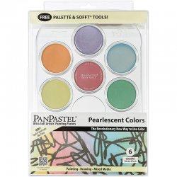 PanPastel - PanPastel Boya Seti 6lı Pearlescent Colors