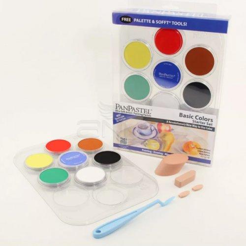 PanPastel Boya Seti 7li Basic Colors Starter Set