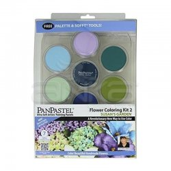 PanPastel Boya Seti 7li Flower Coloring Kit 2 - Thumbnail
