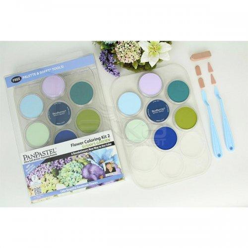 PanPastel Boya Seti 7li Flower Coloring Kit 2