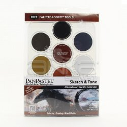 PanPastel Boya Seti 7li Sketch & Tone - Thumbnail