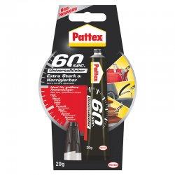 Pattex - Pattex 60 Saniye Universal Yapıştırıcı 20g 1994326