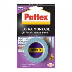 Pattex - Pattex Extra Montaj Tamir Bandı 19mmx1,50m 1871238