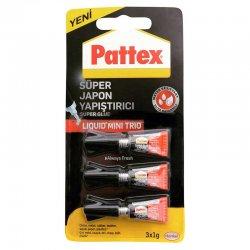Pattex - Pattex Süper Japon Yapıştırıcısı 3x1g