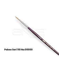Pebeo - Pebeo 110 Seri Samur Sulu Boya Fırçası (1)