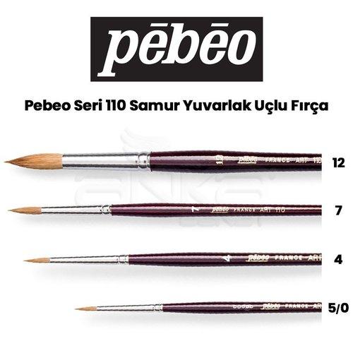 Pebeo 110 Seri Samur Sulu Boya Fırçası