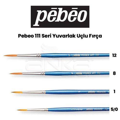 Pebeo 111 Seri Yuvarlak Uçlu Fırça