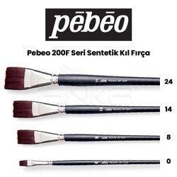 Pebeo - Pebeo 200F Seri Sentetik Kıl Fırça