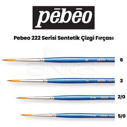 Pebeo 222 Seri Çizgi Fırçası