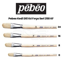Pebeo - Pebeo 258KF Seri Kedi Dili Fırça