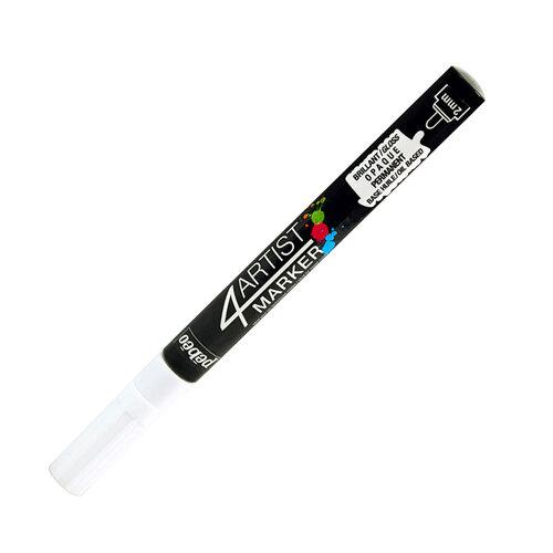 Pebeo 4Artist Oil Marker 2mm Yuvarlak Uç White