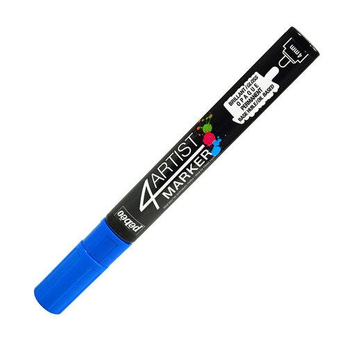 Pebeo 4Artist Oil Marker 4mm Yuvarlak Uç Dark Blue