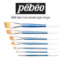 Pebeo - Pebeo 888 Seri Yan Kesik Uçlu Fırça