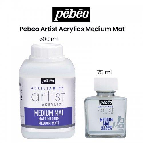 Pebeo Artist Acrylics Medium Mat